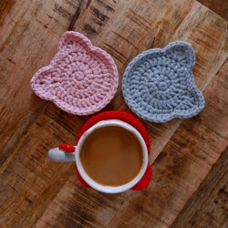 Meow Cup Pads, zestaw 4...